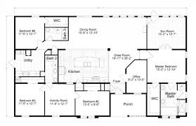3 bedroom single wide mobile home floor plans luxury mobile home plans single wides luxury mobile