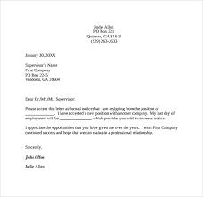 2 Weeks Notice Letter PDF