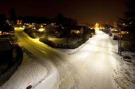 an installation in asker norway in 2010 replaced existing 125w mercury vapor lamps