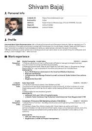 Sales Manager Cv Template Resume Examples By Real People Sap Inside Sales Manager
