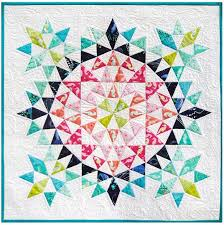 Kaleidoscope Mini Quilt by Debbi Groskopf, seen at Robert Kaufman ... & Kaleidoscope Mini Quilt by Debbi Groskopf, seen at Robert Kaufman Fabrics. Adamdwight.com
