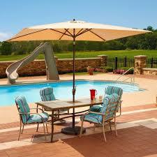 island umbrella adriatic 65 ft x 10 rectangular aluminum market autotilt rectangle patio umbrellas s29 patio