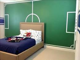 Soccer Decorations For Bedroom Soccer Themed Bedroom Decor Boys Soccer  Painted Soccer Field Sports Room Kids Room Ideas Fields Room And Bedrooms  Soccer ...