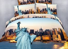 dolce mela nyc city themed king size bedding duvet cover set