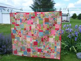 8 Hours and Counting…Disappearing Nine Patch - Jo's Country Junction & trumpquilt-3. This quilt is a disappearing nine patch ... Adamdwight.com