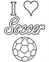 I Love Soccer Coloring Pages Three Rivers Soccer Pinterest