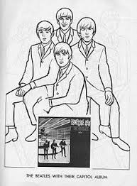 The Beatles Coloring Page 01 Beatles The Beatles Paul Mccartney