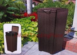 patio garbage can patio trash cans outdoor designs with regard to can plans decorative outdoor patio patio garbage can