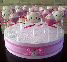 Splendid Hello Kitty Cake Pops In 2019 Ccp Hello Kitty Cake