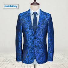 Suit Pattern Enchanting 48 Latest Coat Pant Designs Royal Blue Floral Men Suit Pattern