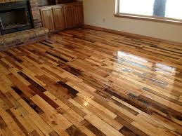 Diy Hardwood Floors Made From Pallets