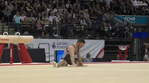 dominick cunningham silver floor 2017 british gymnastics chionships men s senior all around