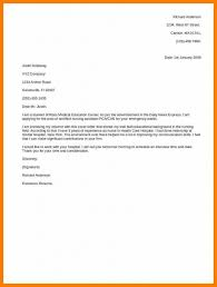 3 4 Simple Cover Letter Examples For Resume Formatmemo Free