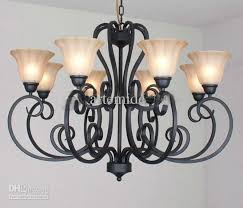 gallery of antique 9 light twig black wrought iron rustic chandelier better new 1