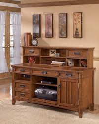 furniture desks home office credenza table. Cross Island Large Credenza With Short Desk Hutch Furniture Desks Home Office Table T