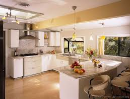 Contemporary Modern Off White Kitchen A Inside Concept Design