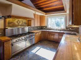 Custom Cabinets Spokane Rustic Kitchen With Custom Hood Drop In Sink In Spokane Wa