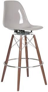 eames bar stool. Exellent Eames DSW Fibreglass Barstool With Swivel For Eames Bar Stool