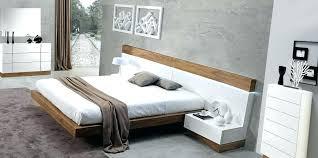 white modern bedroom furniture set ultra modern bedroom furniture made white and walnut floating bedroom set