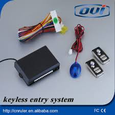 Best selling universal car keyless entry system remote car alarm keyless go  central door lock
