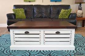wooden trunk coffee table 21 free diy coffee table plans you can build today