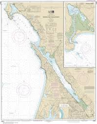 California Nautical Charts 18643 Bodega And Tomales Bays Nautical Chart