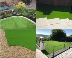 tips on artificial grass edging ideas