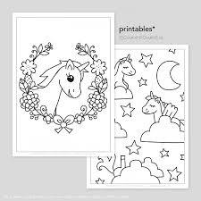 Eenhoorn Printable Kleurplaten