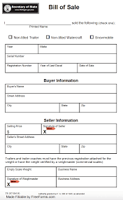 watercraft bill of sale free michigan boat vessel bill of sale form pdf