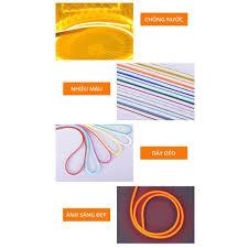 1 mét dây đèn led neon ngoài trời không thấm nước kt 6*12, điện áp 12v,  2,5cm một lần căt, uốn chữ quảng cáo đa dạng giá cạnh tranh