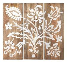 w grey faria wood wall panel set of 3 1469700270 the home depot