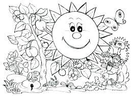 Nature Coloring Pages Printable Nature Coloring Pages Printable