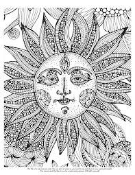 Small Picture Psychedelic coloring pages sun ColoringStar
