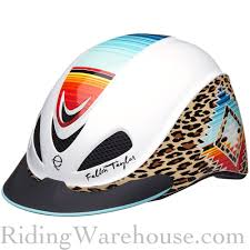 Troxel Spirit Performance Helmet Size Chart Cheetah And Southwest Graphics Combine For An Awesome
