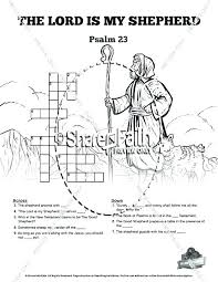 The Lord Is My Shepherd Coloring Page Psalm Coloring Sheet Psalm The