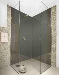 dark grey colour acrylic shower wall panels