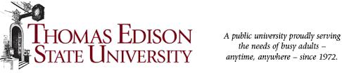 thomas edison state university courses schedules