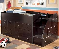 Bunk beds with dressers built in Twin Embrace Loft Bed With Drawers Bedroom Furniture Beds Ashley Furniture Cleverhomeinfo Embrace Loft Bed With Drawers Bedroom Furniture Beds Ashley