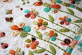 Bugs Applique Patterns - Ladybug Butterfly Snail - Free | Craft ... & little creatures in sercet garden quilt Adamdwight.com