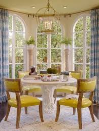 here san francisco designer palmer weiss uses this bination in stunning curtains in this beautiful breakfast room