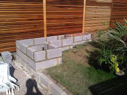 Seating Wall Blocks Concrete Garden Wall Google Search Landscape Pinterest