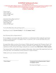 Sample Letter Of Agreement Picture 24 Of 24 Debt Settlement Agreement Letter Sample 4