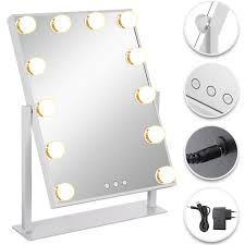 Mirror With Lights Ebay Details About Hollywood Makeup Vanity Mirror Lighted Makeup Mirror Stable Elegantly W Dimmer