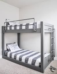 Building A Loft Bed Diy Industrial Bunk Bed Free Plans Industrial Bunk Beds Bunk