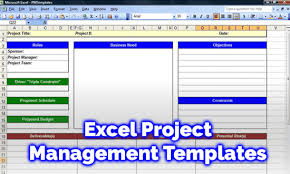 Project Management Plan Excel 5 Free Excel Project Management Templates