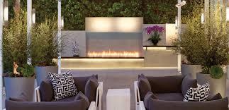 Modern Outdoor Fireplace Designs Eye Catcher Patio Landscape With Modern Outdoor Fireplace