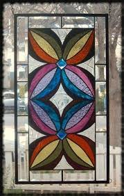 pin on geometric abstract stained glass