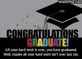Graduation Wishes Quotes Magnificent Graduation Wishes And Messages Congratulation Quotes WishesMsg