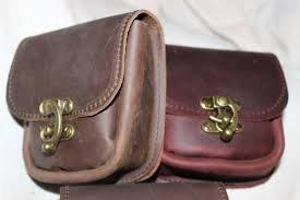 adventurer s leather belt pouch image 0