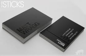 Matt Wragg Spot Uv Finish Business Cards Spot Uv Business